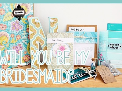 Will You Be My Bridesmaid Boxes - Vintage Style