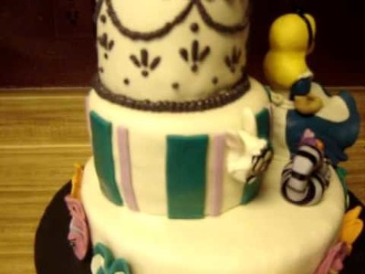 ALice in wonderland cake 001.MPG