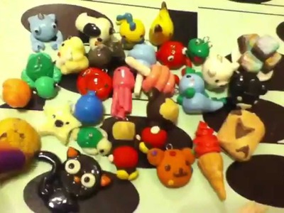 All of my Polymer Clay Charms (2013)