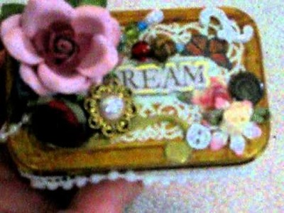 Altered Altoid Tin-Your Paper Pantry