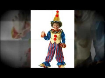 Childrens Clown Costumes - Halloween