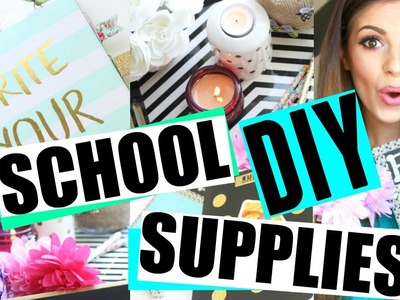 DIY BACK TO SCHOOL | GIRLY SUPPLIES 2015!