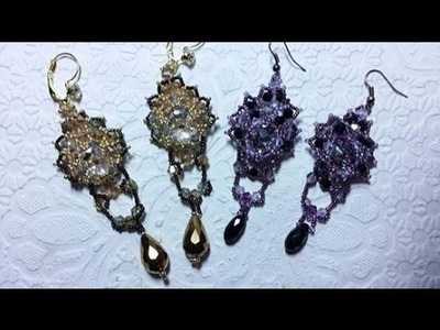 DIY - Orecchini Strega  - Witch earrings  con Swarovski
