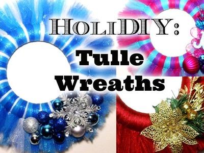 DIY: Tulle Wreaths!
