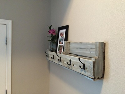 Easy Pallet Shelf Pallet Up Cycle Challenge 2014