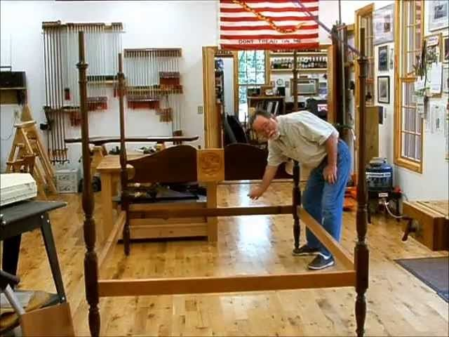 Enlarging a Bed to Queen Size; Andrew Pitts FurnitureMaker