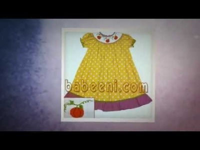 Excellent Halloween collection of smocked dress,baby dress,boy smocked clothing