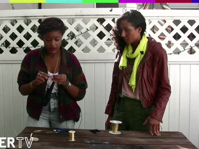 FADER TV: Crafternoon - How To Make a Tassel Necklace