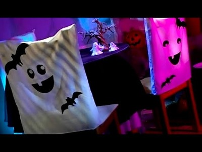 Ghost Chair Cover Decorations | Halloween | Babble