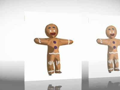 Halloween Costumes - Shrek Gingerbread Man Costume