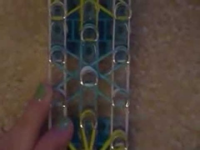 How to make a starburst rainbow loom bracelet