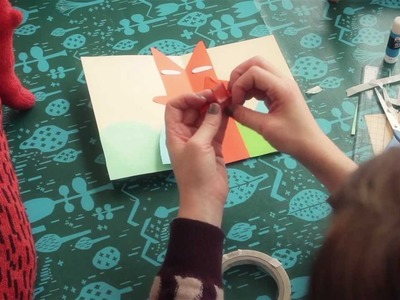 How to make pop-up cards with Donna Wilson