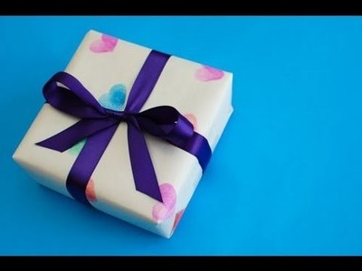 How to Make Valentine Wrapping Paper