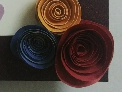 How to: Paper quilling rose! :)