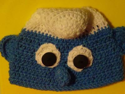 Inspired Smurf Hat - Left Handed