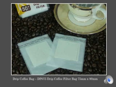 Japan Drip Coffee Bag - Drip Coffee Filter Bags Package Filter Paper, Coffee Flat Pouches