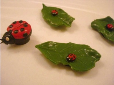 Lady Bug Magnet tutorial