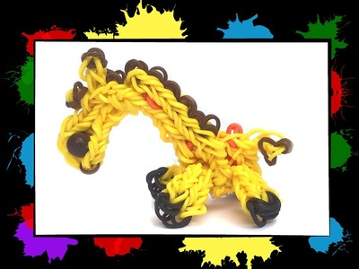 Level 3 video 4: Learn to make a Giraffe with Loom bands and a Loomboard