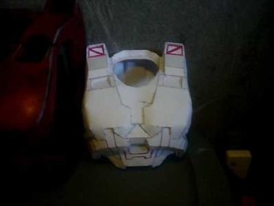 My daughters Halo armor part 1