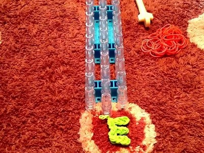 *NEW* How To: Rainbow Loom Letter E Charm!