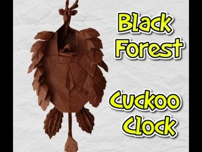 Origami Black Forest Cuckoo Clock Walkthrough