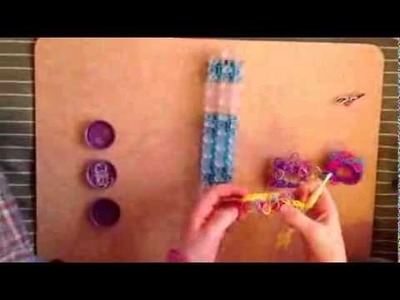 "Original ""Loopy Confetti"" Bracelet Tutorial-Rainbow Loom Band"