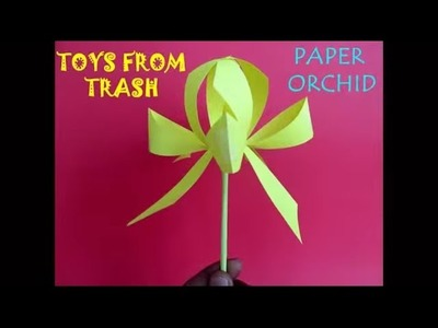 PAPER ORCHID - ENGLISH - Simple beautiful Orchid!
