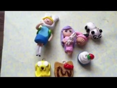 Polymer Clay Charms Update #2 (Adventure time)