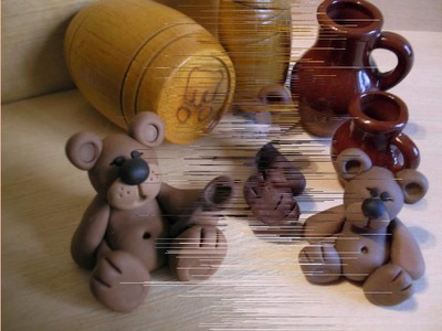Polymer clay creations (animals)