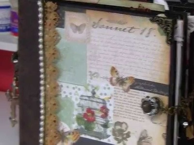 Power Scrapbooking Layouts Video 3 (Three 12x24 Christmas Pages & My Updated Room)