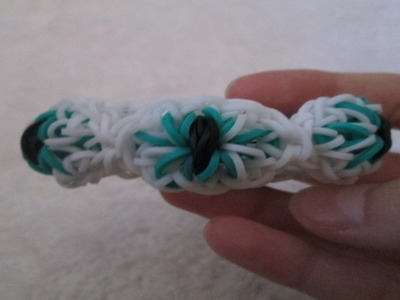 Rainbow Loom- Eyeball Bracelet (Variation of the Citrus Bracelet by Sunshine Loom)