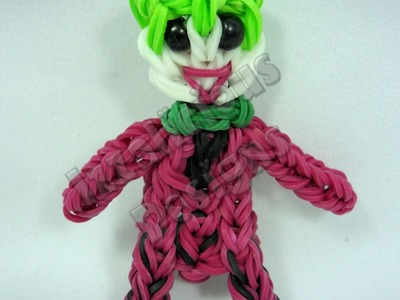 Rainbow Loom The Joker From Batman - Action Figure.Charm - Gomitas