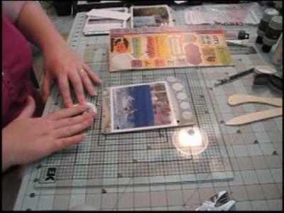 Scrapbook Mini Album: Miami Seaquarium, Part Two