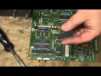 Scrapping, how to remove IC Chips, and what else is worth money on a circuit board