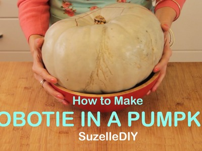 SuzelleDIY - How to Make Bobotie in a Pumpkin