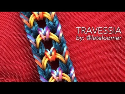 TRAVESSIA Hook Only bracelet tutorial