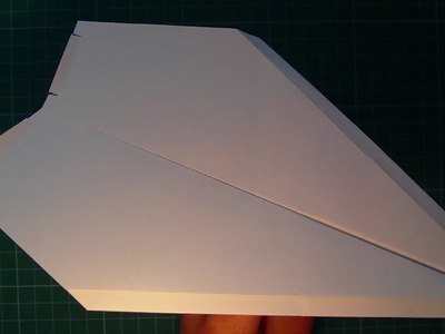 Tutorial paper airplane excellent fly