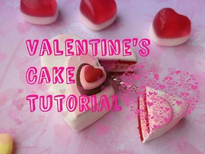 Valentine's Cake Polymer Clay Tutorial