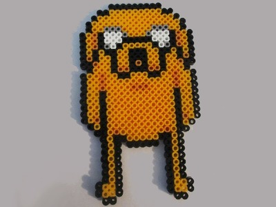 Adventure Time Jake Perler Bead Tutorial