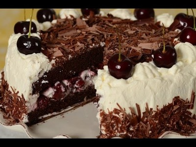 Black Forest Cake Recipe Demonstration - Joyofbaking.com