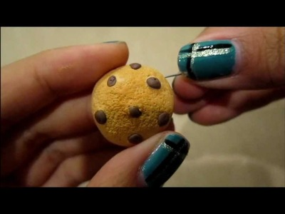 Clay Chocolate Chip Cookie Tutorial!