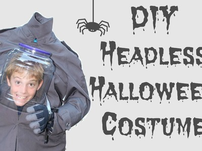 DIY Headless Halloween Costume