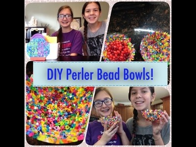 DIY Perler Bead Bowls!