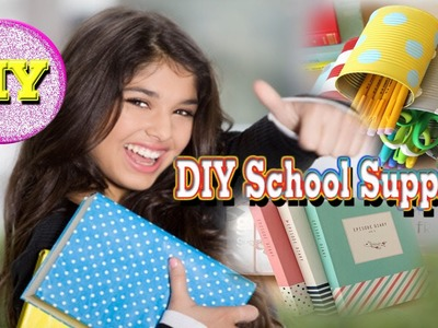 Diy School Supplies 2015│New Video Easy Diy│ Room Organization Ideas!