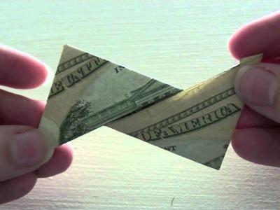 Dollar Bill Ninja Star Shuriken Tutorial