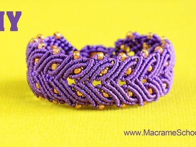 Laurel Leaf Bracelet Tutorial