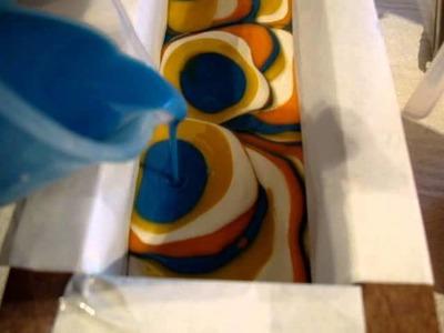 Making Tuscan Sun Pure Silk Soap