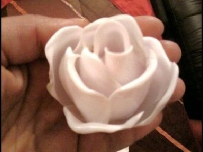 MAN VS DIY: Turning Plastic Spoons Into Roses