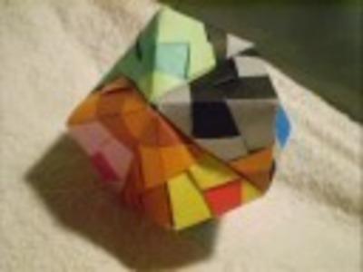 Modular Origami - Sonobe