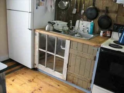 More kitchen cabinets made out of old junk